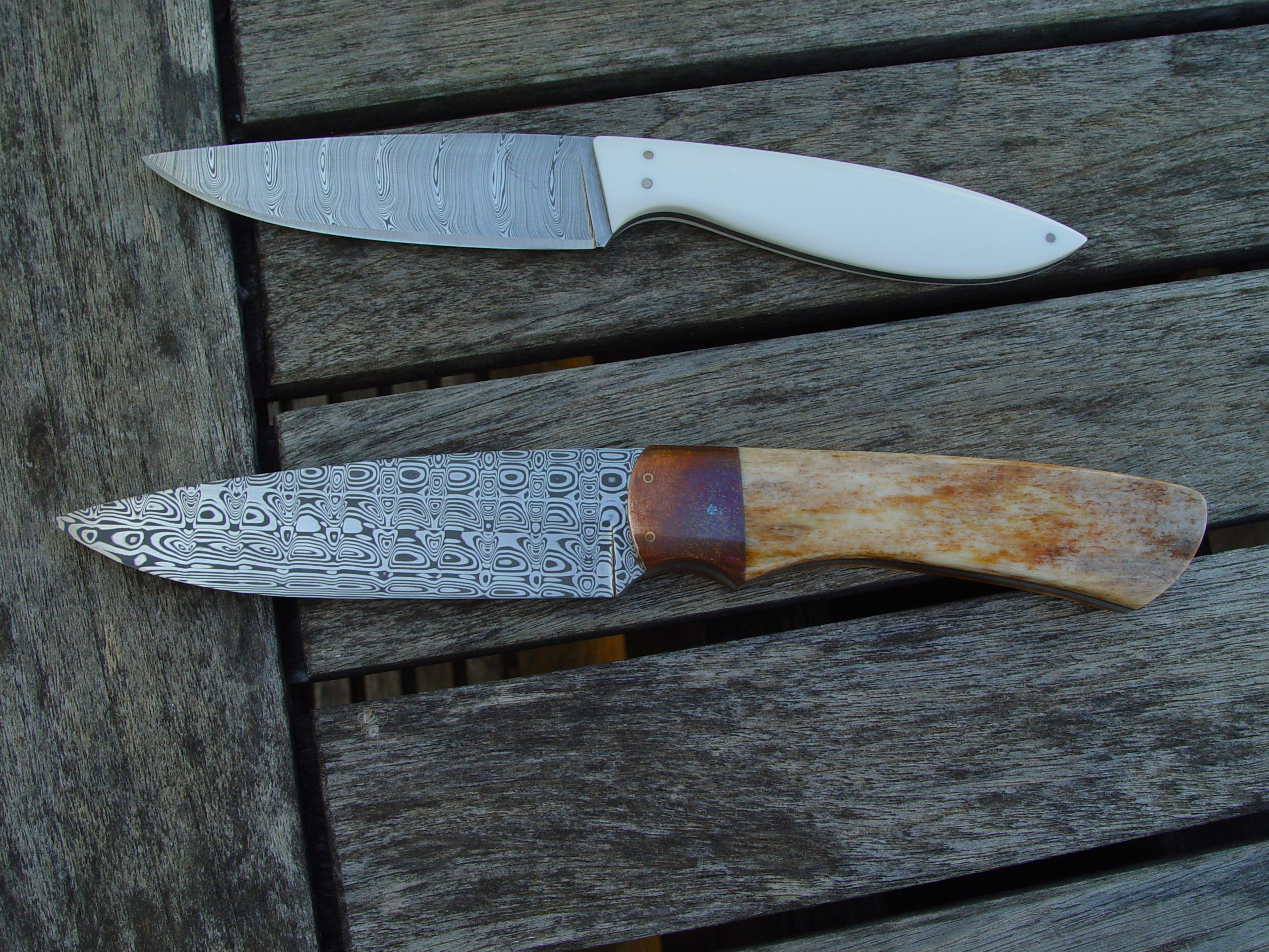 Hunter and Utility blades