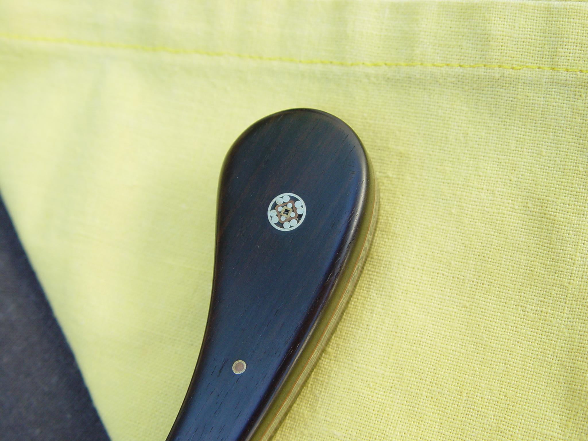 Mosaic pin detail