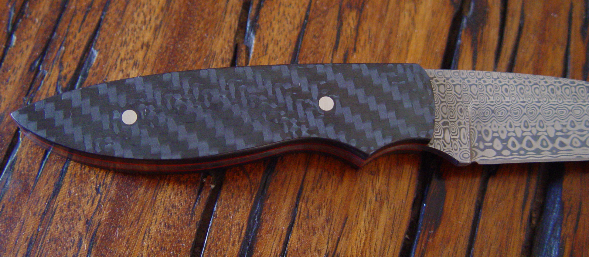 Close up of carbon fiber