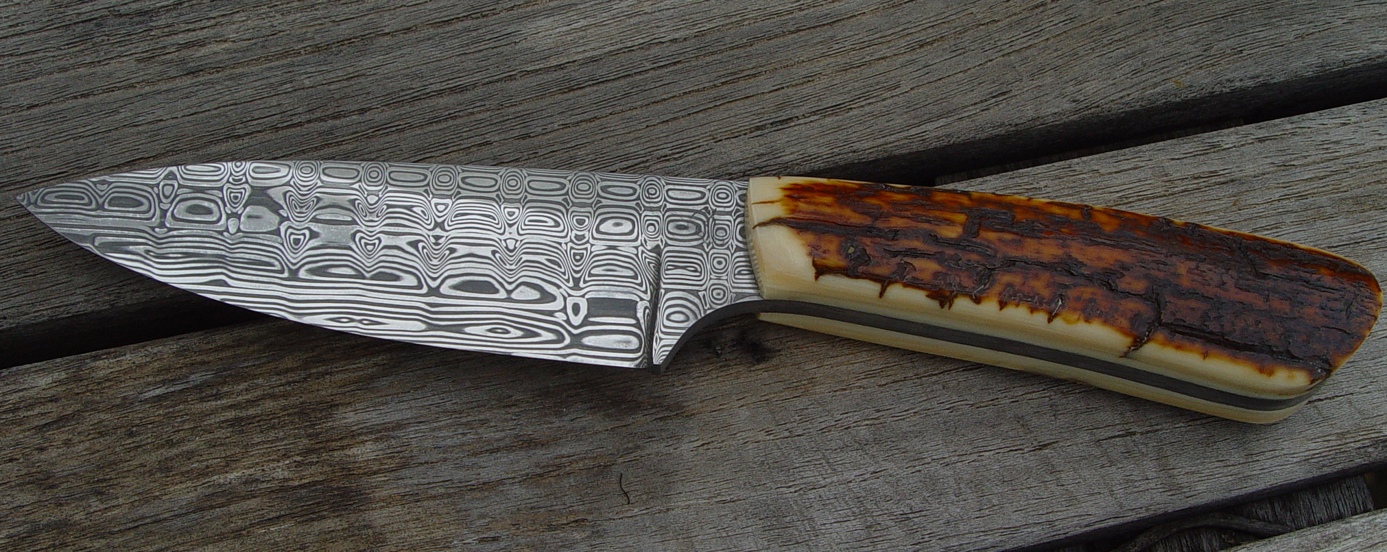 Loud and proud with Mammoth Ivory Handle