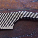 Straight razor made from Masame steel.