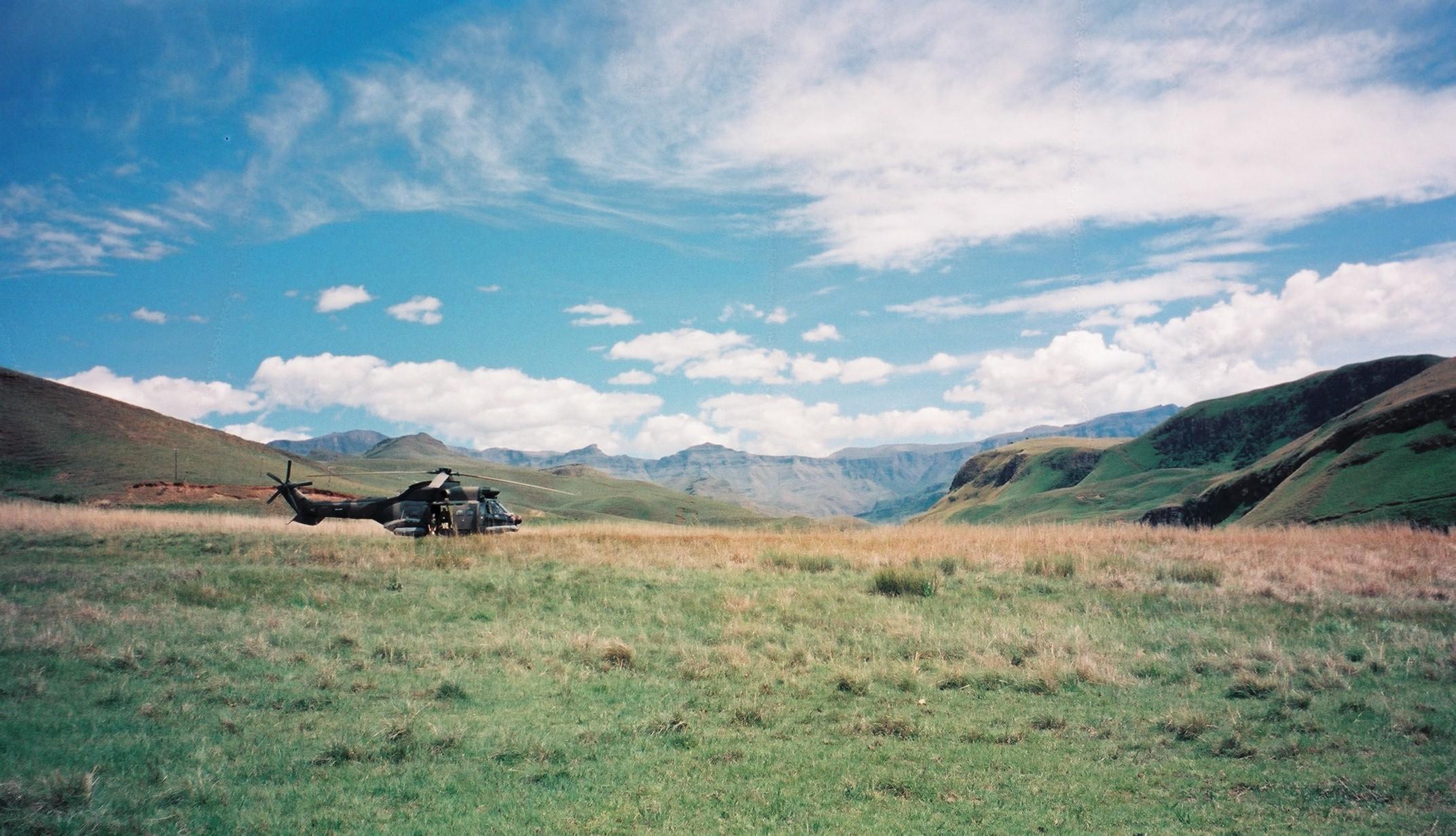 In the Drakensberg