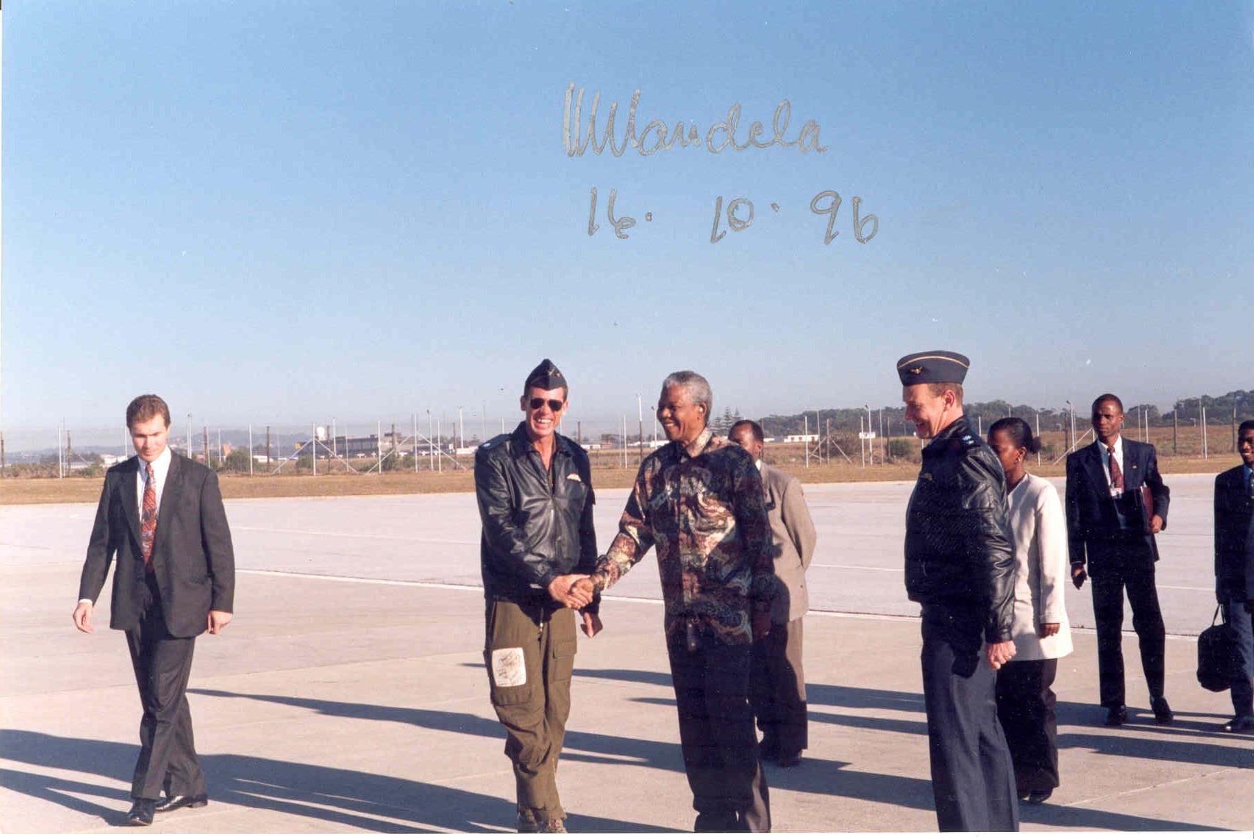Mandela autograph
